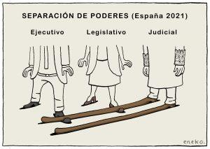 El largo pie de la ley