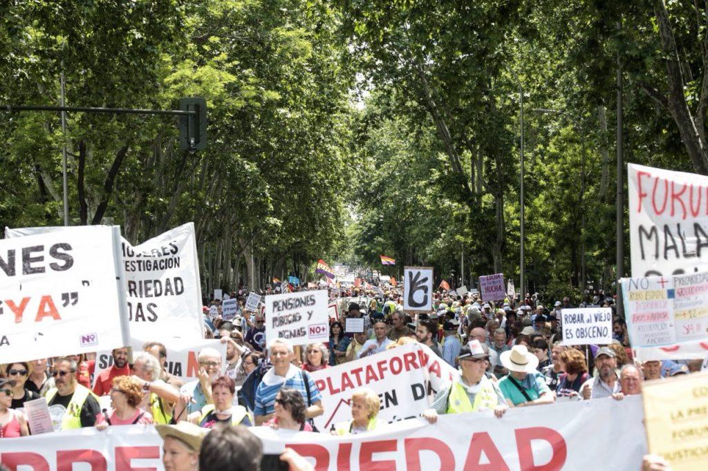 manifestación-no-más-precariedad