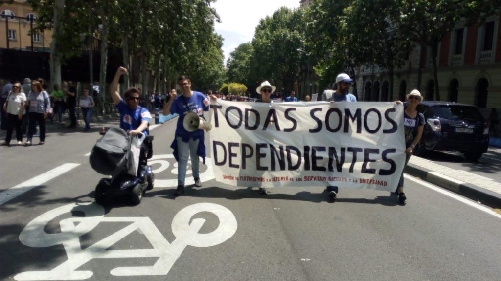 Unión de Plataformas en Defensa de los Servicios Sociales y la Diversidad Funcional.