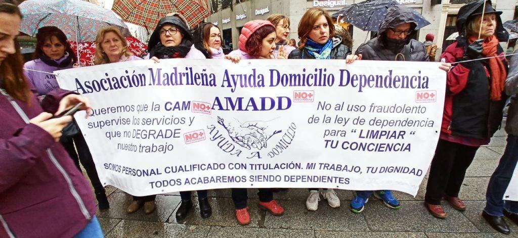 Asociación Madrileña Ayuda a Domicilio Dependencia