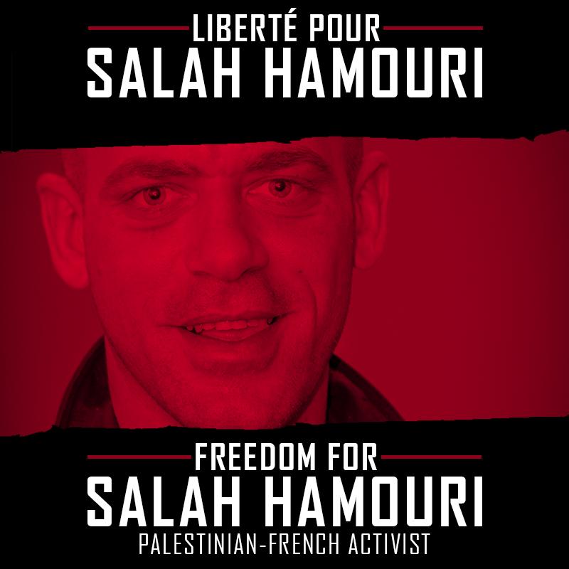 El abogado palestino-francés Salah Hamouri,